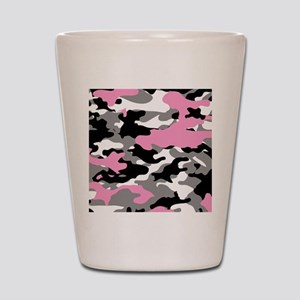 PINK CAMO IPAD CASE Shot Glass